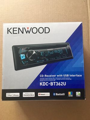 Kenwood Car Stereo w/ wire harness for Sale in Pittsburgh, PA