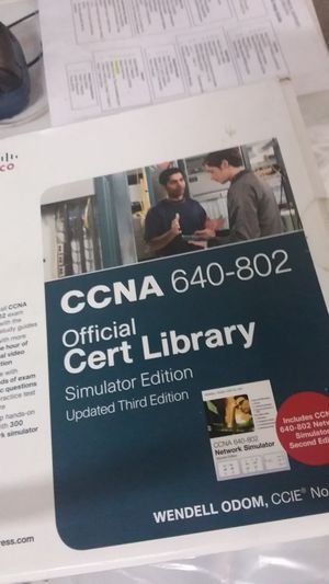 Official start Liberty simulator Edition Cisco computer software for Sale in Fort Lauderdale, FL