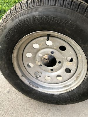 Trailer tire 175/80R13 for Sale in DEVORE HGHTS, CA