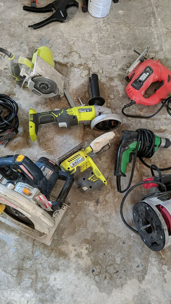 7 power tools for $165