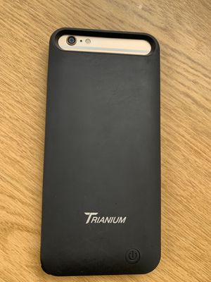 iPhone 6plus chargeable case for Sale in Long Beach, CA