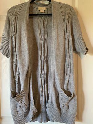 Michael Kors women's grey sweater size M for Sale in St. Petersburg, FL