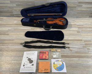eMedia My Violin Starter Pack for Kids- 1/4 Size for Sale in Glendale, AZ