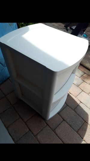 Two drawer storage container for Sale in Palm Springs, FL