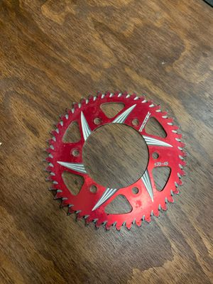 2011-current Suzuki GSXR 600 / 750 rear sprocket for Sale in La Mesa, CA