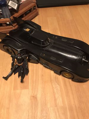 Batman returns bat missile bat mobile and figure for Sale in Eugene, OR