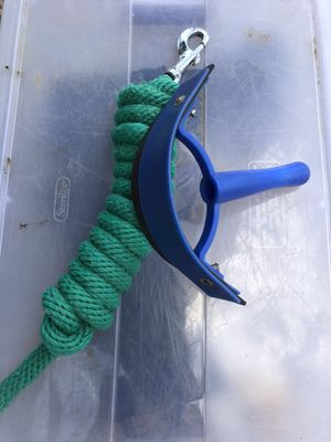 Lead rope and sweat shedder for Sale in Seattle, WA