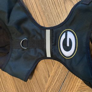 Green Bay dog harness medium with hood for Sale in Hickory Hills, IL