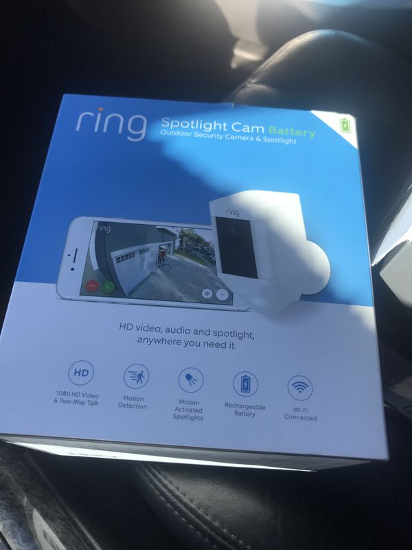 Ring Spotlight cams