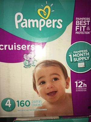 Pampers diapers cruisers size 4 for Sale in Downey, CA