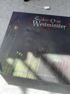 shadows over westminister board game for Sale in San Diego, CA