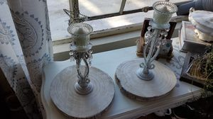 White Vintage candle holder for Sale in Alameda, CA