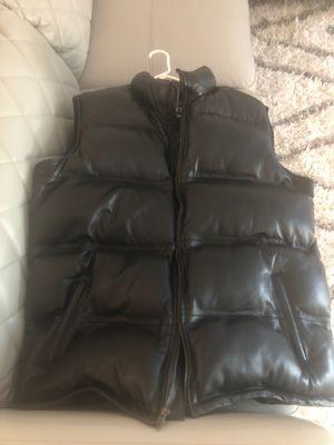 Nino Black Leather Vest XL men's for Sale in Atlanta, GA