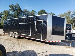 34' Enclosed Auto Hauler Trailer for Sale in Katy, TX