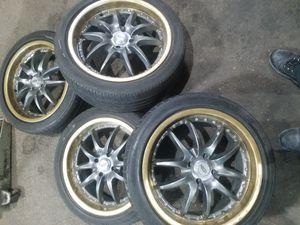 Rims 4 lugs honda civic toyota hyundai etc for Sale in Chicago, IL