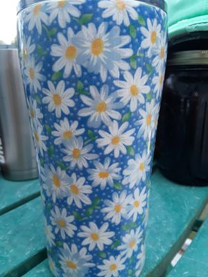20 oz Tumbler Daisy for Sale in Davenport, FL