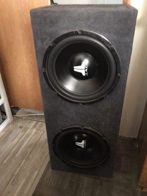 2/12w6 OldSchool Jl Audio Subwoofers 🔊 for Sale in El Cajon, CA