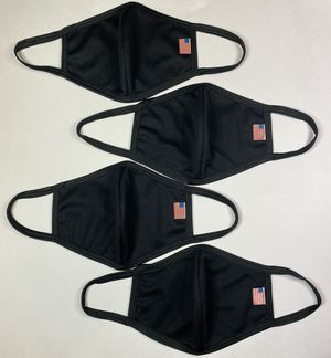 Black USA Facemasks (4 Pack)! for Sale in Strongsville, OH