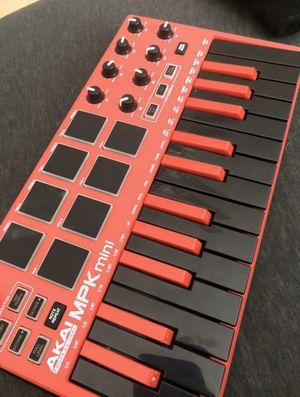 Akai Professional MPK Mini MKII Keyboard - Red for Sale in Fresno, CA