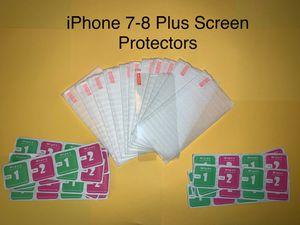 iPhone 7-8 Plus screen protector for Sale in Miami, FL