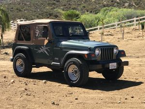 Jeep Wrangler 2.5L 4 cylinder 5 speed manual for Sale in Temecula, CA