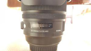 Sigma Lense 24 - 105 for Sale in Marina del Rey, CA