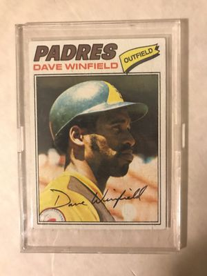 Dave Winfield Nice Topps Baseball Card for Sale in Raleigh, NC