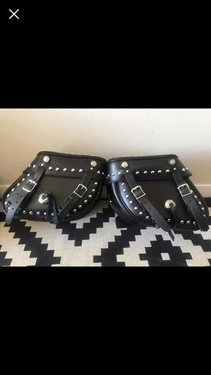 Brand NEW Leather Works Inc Saddlebags, Harley, motorcycle, auto parts for Sale in Denver, CO