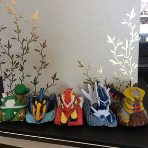 Anime Pokémon Figure size 2+ inches. Pull back toy cars. for Sale in Federal Way, WA