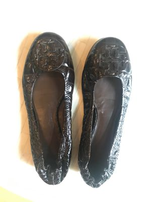 Dark brown Tory Burch flats - size 8.5 for Sale in Washington, DC