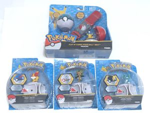 Pokemon Bundle Lot Of 4 Clip N Carry Pokeball Belt Tomy Throw Pop Ultra Ball Toy for Sale in Irwindale, CA