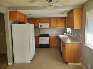 Kitchen cabinets, stove, microwave for Sale in Kent, WA
