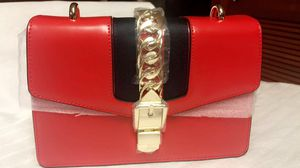 Red hot guccy style designer crossbody bag for Sale in Miami, FL