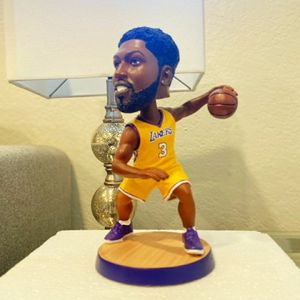 Lakers 2020 Championship Lakers Anthony Davis New Action Figure Bobblehead For NBA New Season Lakers Jersey Sports And Outdoor for Sale in Santa Ana, CA