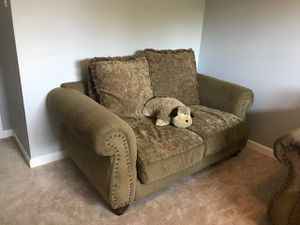 Sofa, Loveseat, and Chair for Sale in Dallas, TX