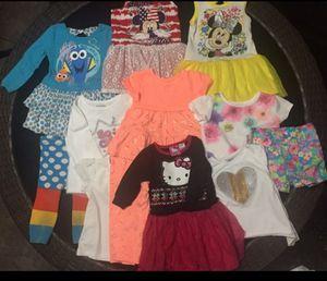 Lot of Toddler Girls T-Shirt Shirt Dress Size 2T for Sale in Phoenix, AZ