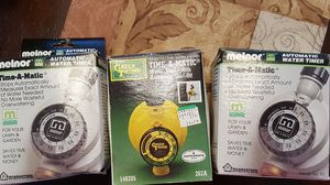 3 Automatic water timers for sprinklers for Sale in Framingham, MA