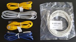 coaxial cable, splitter and ethernet cables for Sale in Irving, TX