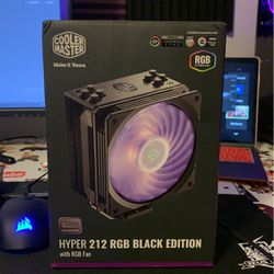 Cooler Master Hyper 212 RGB Black Edition for Sale in Haverstraw,  NY
