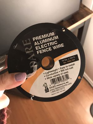 Electric wire for fence for Sale in Atascadero, CA