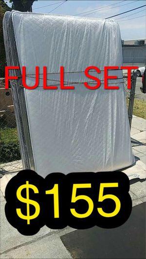 Full mattress and box spring for Sale in El Segundo, CA