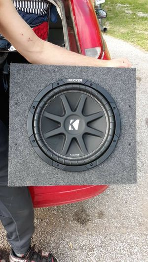 "New 12"" Kicker comp subwoofer in New box , with 2500 watt power acoustic amp for Sale in Parkersburg, WV"