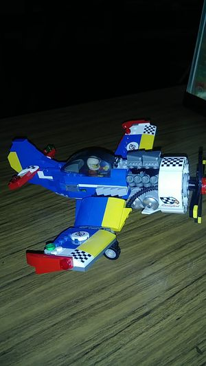 Lego race plane for Sale in Mentone, CA