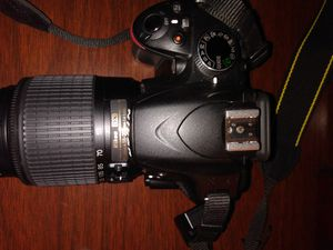 Nikon D3200 camera for sale super zoom lens add on for Sale in Greensburg, PA