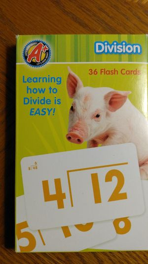 Division flashcards for Sale in Orland Hills, IL