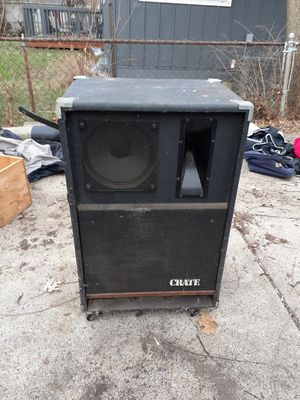 Pair of Crate PS-151OH speakers for Sale in Columbus, OH