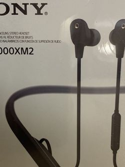 #55 Sony Wireless Noise Cancelling Stereo Headset WI-1000XM2 for Sale in Hudson,  OH
