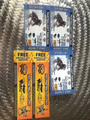 Paintball passes for Sale in Fontana, CA