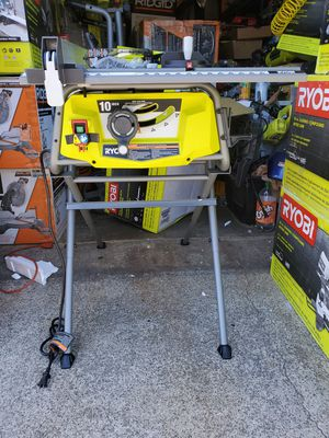 RYOBI 15 Amp 10 in. Table Saw with Folding Stand for Sale in Westminster, CA