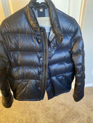 Men's Burberry down puffer jacket sz large for Sale in Phoenix, AZ